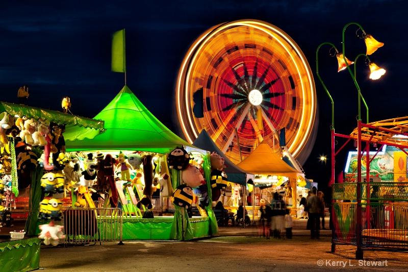Carnival Lights - ID: 14391464 © Kerry L. Stewart