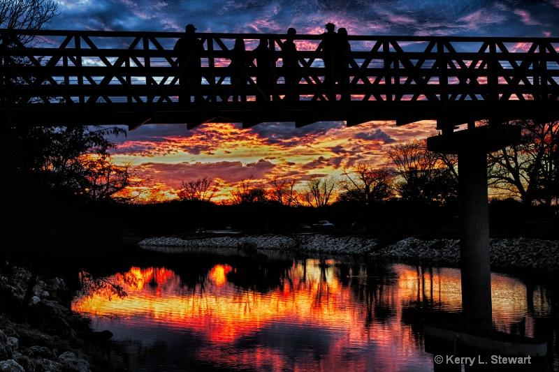 Watching the Sunset - ID: 14395666 © Kerry L. Stewart