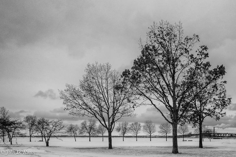 A Milwaukee Winterscape in March - ID: 14397757 © John D. Roach