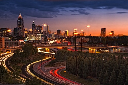 Atlanta City Lights