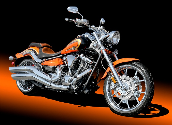 Yamaha Raider SCL Motorcycle - ID: 14439577 © David P. Gaudin