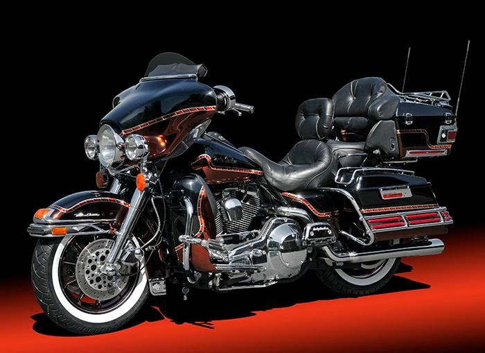 Harley Davidson Motorcycle - ID: 14439578 © David P. Gaudin