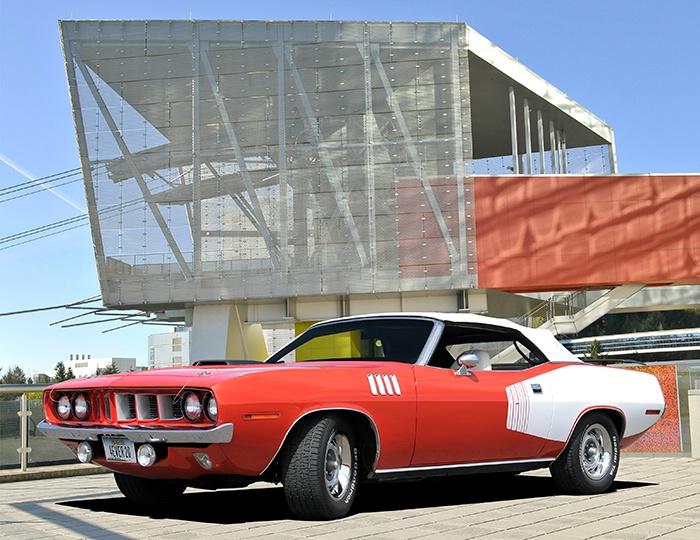 1971 Plymouth Barracuda Convertible - ID: 14445351 © David P. Gaudin