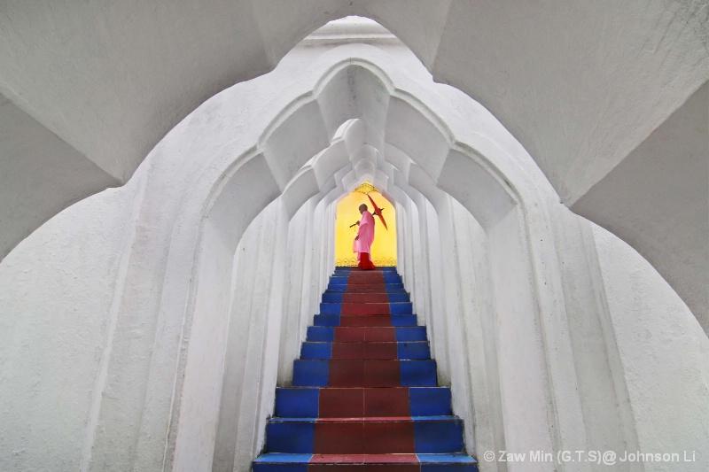 Return to monastery