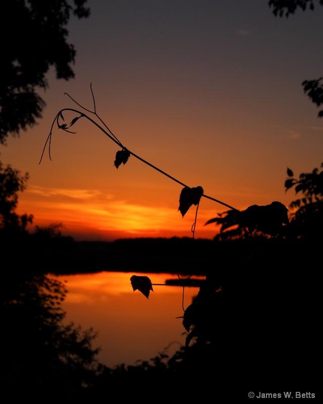 River Sunset...