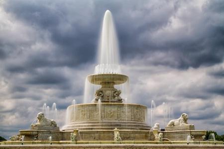 Belle Island Park Fountain