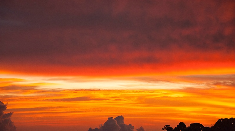 Sunset from the Lodge - Mt Kinabalu - ID: 14557473 © Mike Keppell