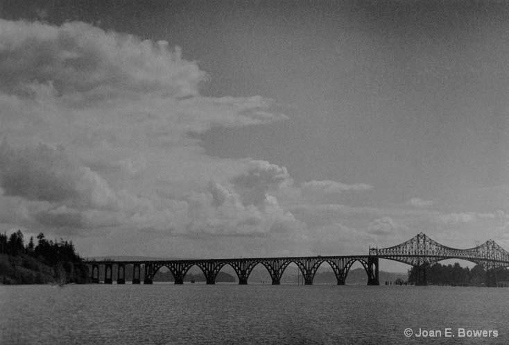 Coos Bay Bridge #2 - ID: 14559129 © Joan E. Bowers