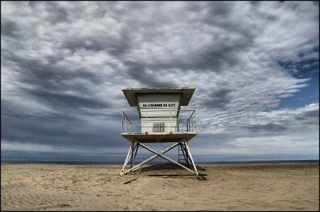 Vintage Lifeguard Station