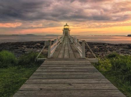 Marshall Point Lighthouse Sunset