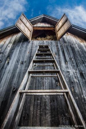 Hay Barn from Below
