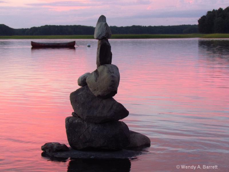 Peaceful Sunset - ID: 14602888 © Wendy A. Barrett