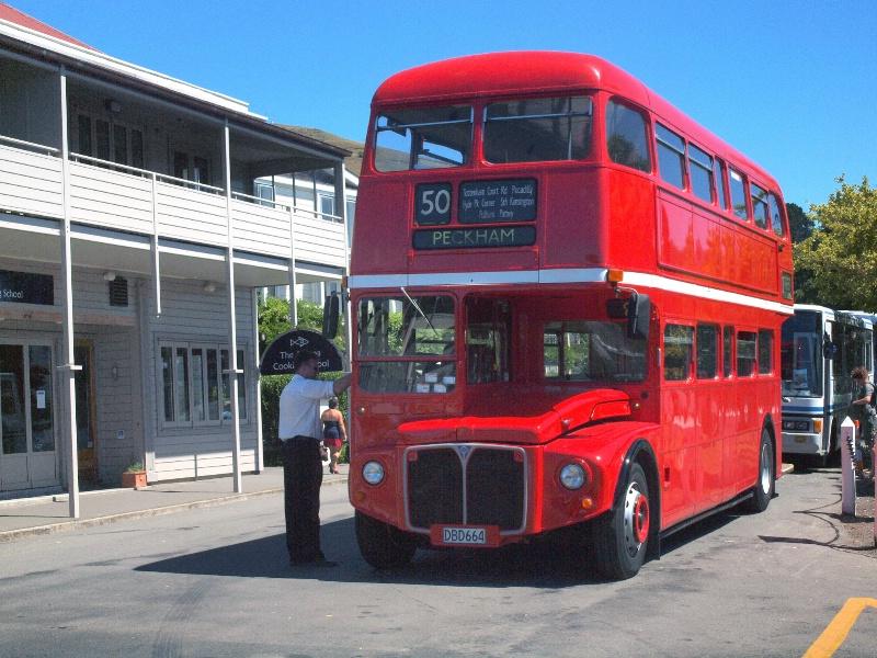 * Big Red Bus *<p>
