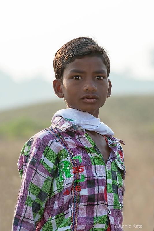 young indian boy - ID: 14648672 © Annie Katz