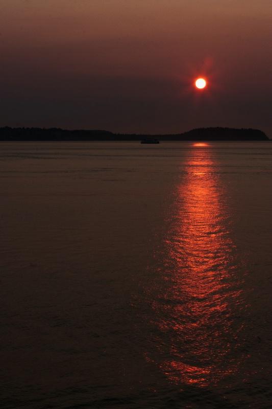 Alaska Waters Sunset