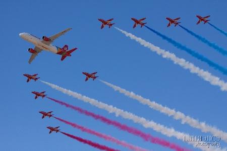 Air Malta - Red Arrows Flypass
