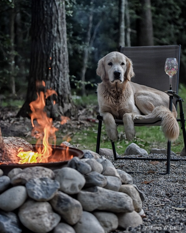 Chilling by Fire...