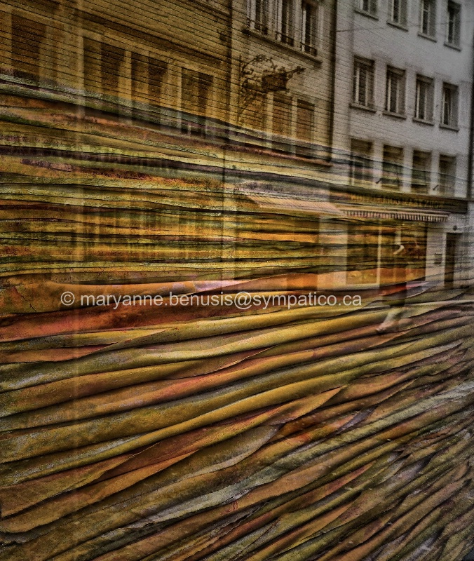 Fabric Store Window in Zurich - ID: 14696187 © Mary-Anne Benusis