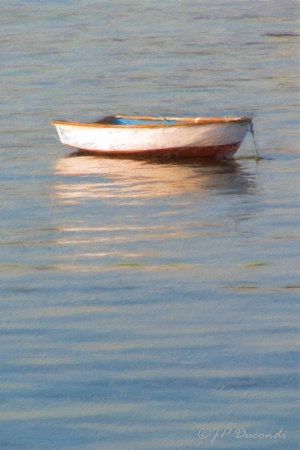 The Boat at Sunset