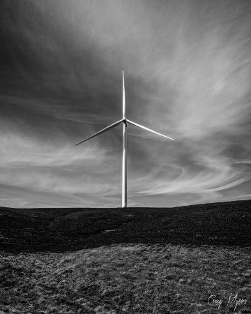 Wind Turbine, SE Washington