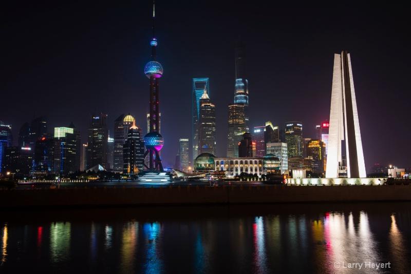View from the Bund- Shanghai, China - ID: 14753965 © Larry Heyert