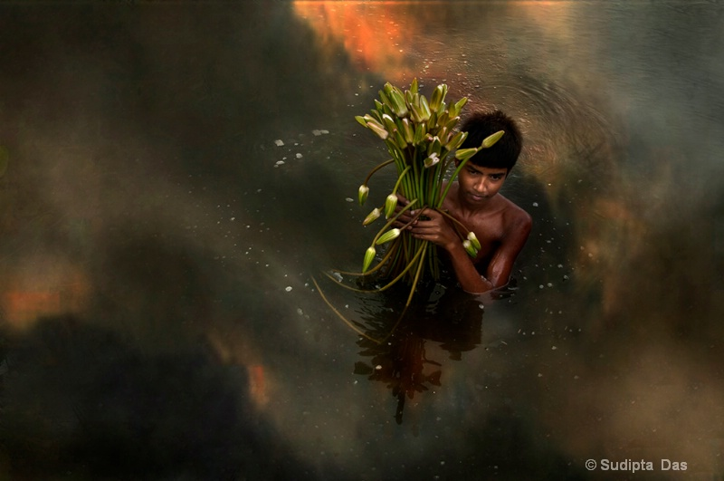 Boy With lilly #2