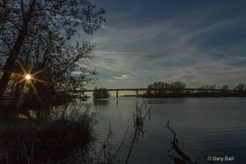 Sunrise on the Arkansas River