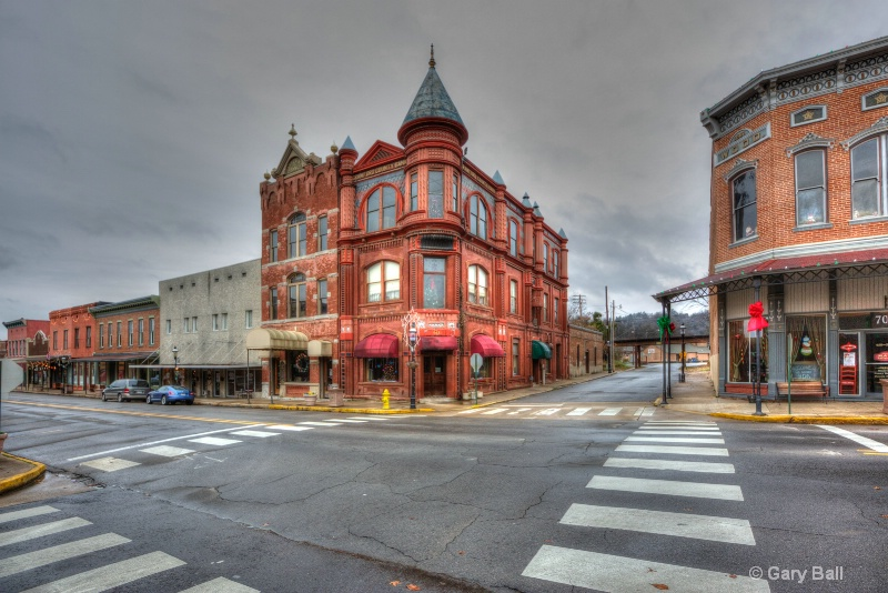 Old Crawford County Bank Building