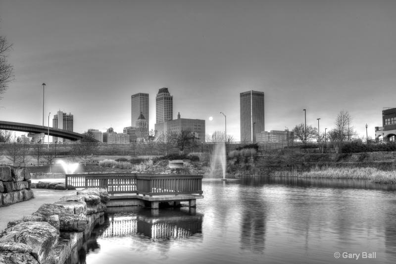Downtown Tulsa from Centennial Park