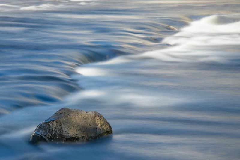 mahood river below sylvia falls -    larry citra - ID: 14814504 © Larry J. Citra
