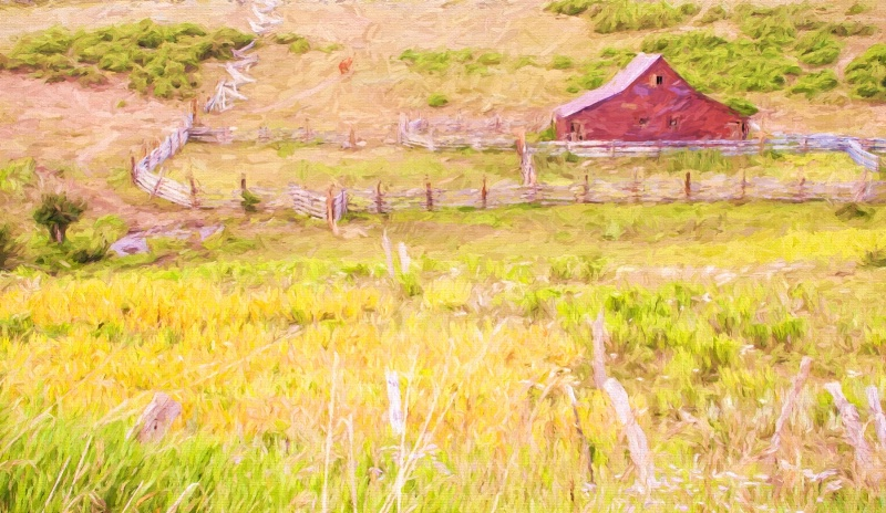 Colorado Barn - ID: 14832614 © Sheila Babbie