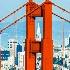 © TERRY N. MCCORMAC PhotoID# 14864137: Golden Gate Bridge & the Transamerica Building