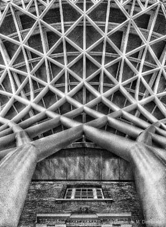 ~ ~ LOOKING UP AT KING'S CROSS ~ ~