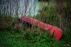 Grounded Canoe