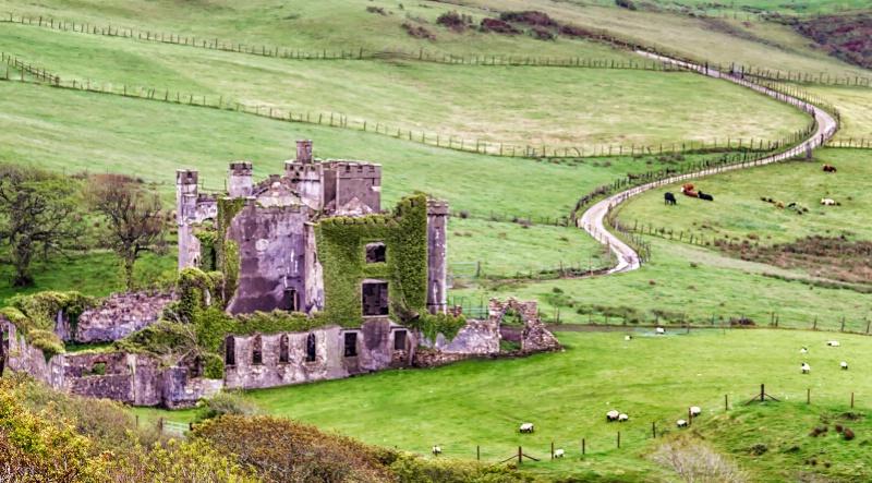 Ireland Hillside  0245 - ID: 14944768 © Karen Celella