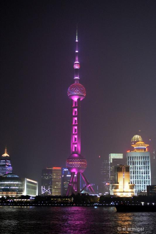 Míngzhūtǎ The Pearl Tower - ID: 14953405 © al armiger