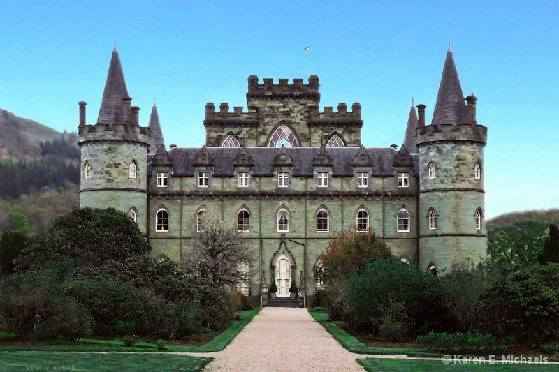 Inverary Castle - ID: 14954543 © Karen E. Michaels