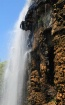 A waterfall from ...