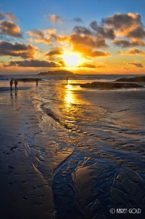 Sunset on Chesterman's Beach