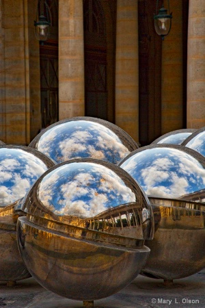 Reflections - Paris Sky