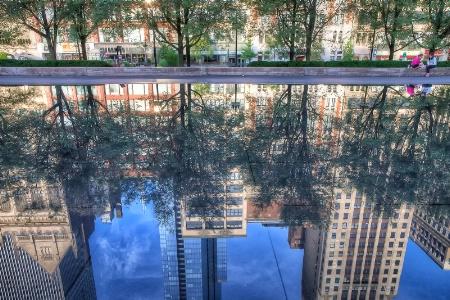 Michigan Ave Reflections