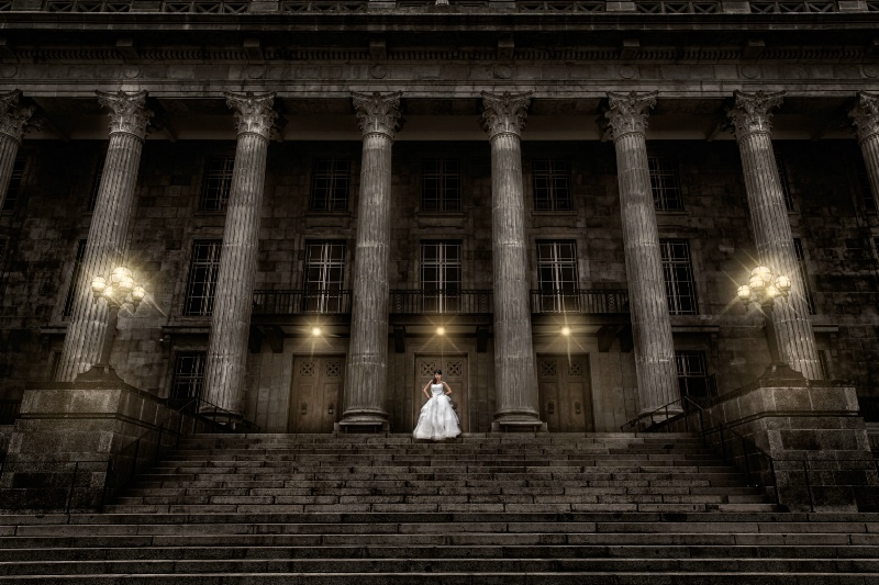 bride at Nationale Gallery