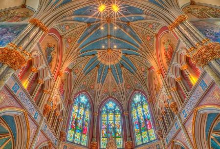 Looking Up St. John Baptist