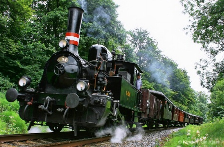 Steam Locomotive F694