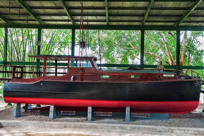 pilar-hemingway s boat - ID: 15076644 © Annie Katz