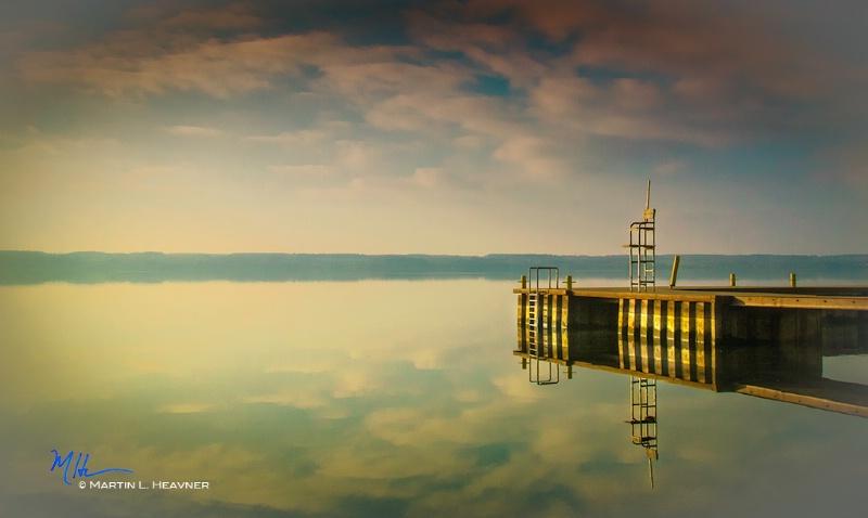 December's Lifeguard - Cayuga Lake, NY - ID: 15079930 © Martin L. Heavner