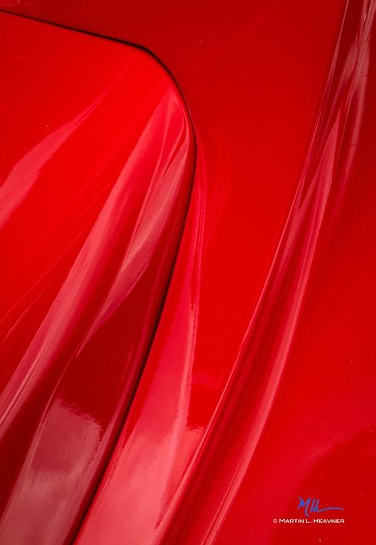 Molten Red Metal - ID: 15081151 © Martin L. Heavner