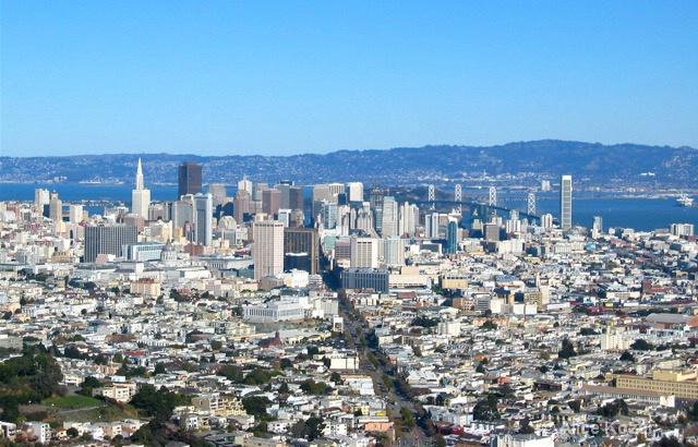 San Francisco from Twin Peaks - ID: 15087477 © Alice Kozar