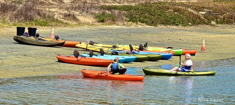 Happy Kayakers - ID: 15087499 © Alice Kozar