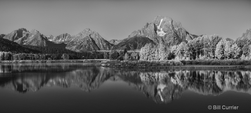 Oxbow Bend Morning Sunrise - ID: 15093774 © Bill Currier